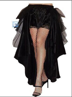 plus size petticoat S-6XL Gothic Victorian Steampunk Burlesque Taffeta Lace Bustle Prom Wedding Skirt hot selling !!!