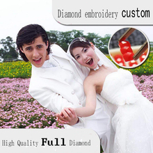 Drill Diamond Embroidery 5D Diy Painting Personal Photo Custom Full Square Private Picture Animal Cross Stitch