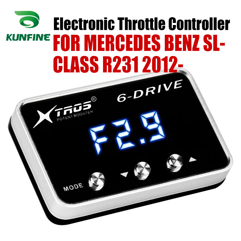 Car Electronic Throttle Controller Racing Accelerator Potent Booster For MERCEDES BENZ SL-CLASS R231 2012-2019 Tuning Parts Car Electronic Throttle Controller Racing Accelerator Potent Booster For MERCEDES BENZ SL-CLASS R231 2012-2019 Tuning Parts