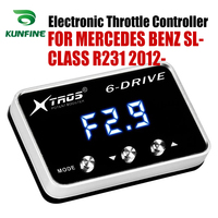 Car Electronic Throttle Controller Racing Accelerator Potent Booster For MERCEDES BENZ SL-CLASS R231 2012-2019 Tuning Parts