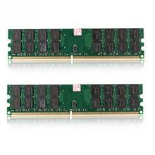 2 個 240 ピン DDR2 DIMM 4 グラム RAM メモリバンク 1.8V PC2 6400 800 待ち時間なし低消費電力 amd のマザーボード用