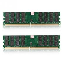 2 STUKS 240 Pin DDR2 DIMM 4G RAM Geheugen Bank 1.8V PC2 6400 800 Geen Latency Low Power voor AMD Moederbord