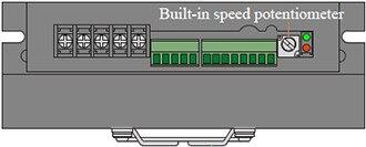 BLD750 Bulit-in potentiometer RV