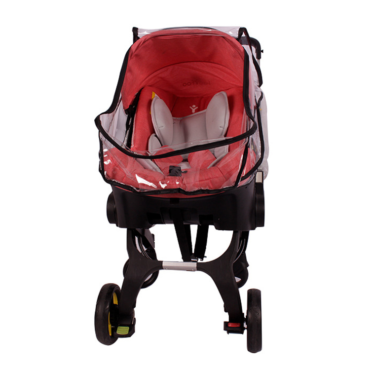Image 2 - Baby strolle accessorie rain cover of high view pram baby car seat raincoat for foofoo strollerStrollers Accessories   -