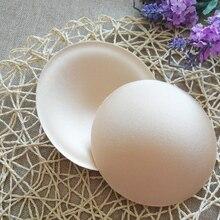 Summer 1 Pair Practical Summer Breast Bra Bikini Inserts Chest Pad Women Swimsuit Padding Inserts Sponge Foam Bra Pads Chest Cup
