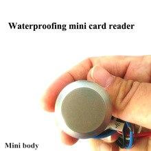 125 KHZ/13.56 MHZ erişim kontrol kartı mini rfid nfc okuyucu/EM ID rfid kart okuyucular + 3 fobs ücretsiz