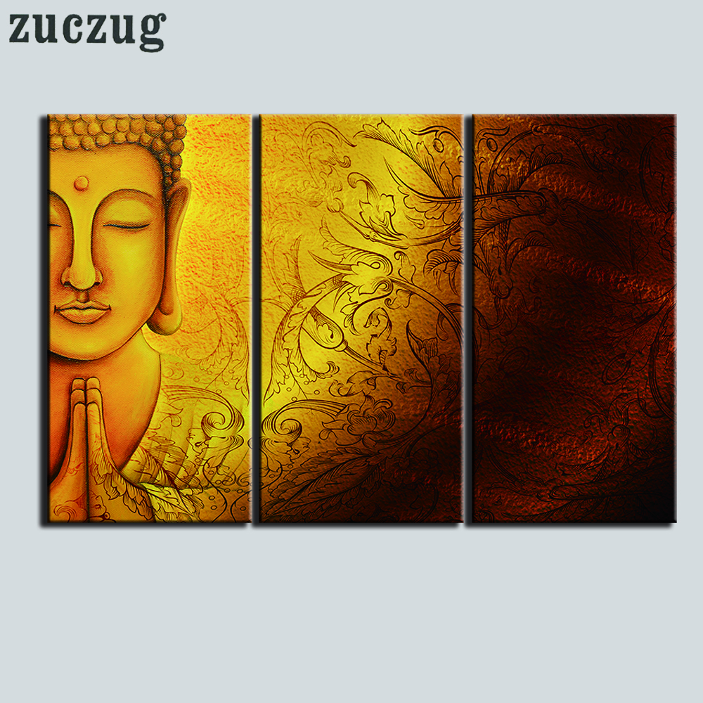 Unframed HD Printed Buddha Art Painting on Canvas Home Decoration ...