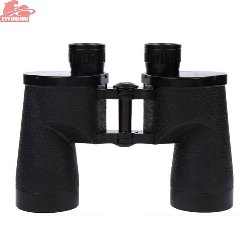ZIYOUHU 12X42 Military Binoculars Powerful Telescope Hd High Quality Waterproof Hunting binocular with Rangefinder line black