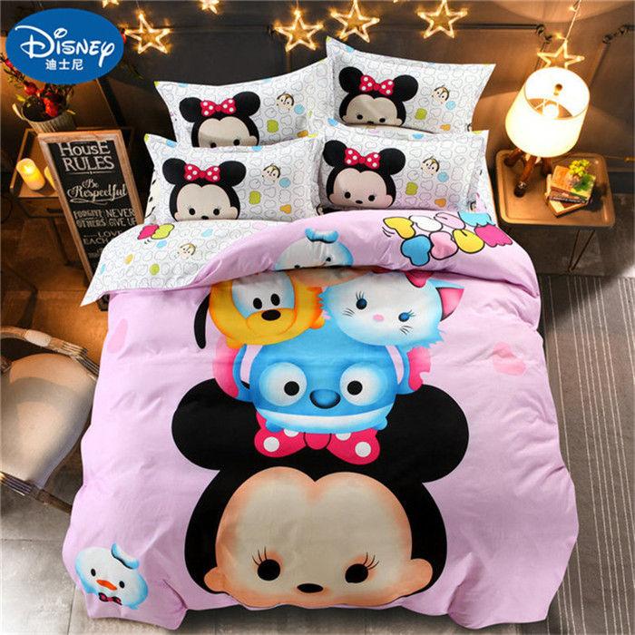 Disney Minnie Mouse Toddler Bedding Set Comforter Quilt Sheets Blanket Pillow