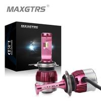 MAXGTRS Car Headlights H7 H11 LED 9005 HB3 9006 HB4 9012 62W 9000Lm Mini Auto Fog