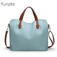 Kunzite роскошные сумки женские дизайнерские повседневные сумки-тоут женские мягкие ПУ кожаные сумки через плечо для женщин сумки на плечо Bolsos...