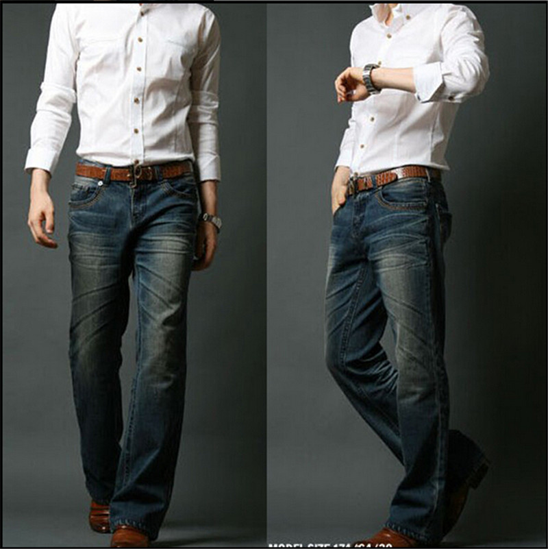 slim fit bootcut jeans for men - Jean Yu Beauty