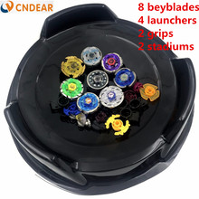 Beyblade arena stadium Metal Fusion 4D Freies System Battle Metal Top Fury Masters launcher and grip children toy(China)