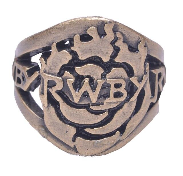Аниме кольцо RWBY в подарочной шкатулке 1