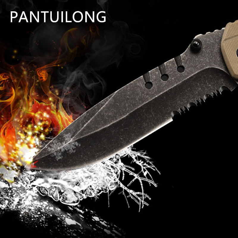 hunting Blade knife folding tactical outdoor steel Stainless tool portable small pocket field survival <font><b>karambit</b></font> navajas <font><b>csgo</b></font> image