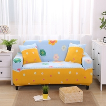 Plant design colorful sofa covers elastic for living room l shaped couch  covers for sofas fabric cover sofa sectional slipcovers