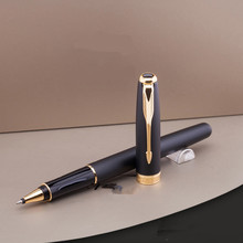 1 шт. металлический офисный серебряный золотой цвет стрелка клип подарок Ручка-роллер