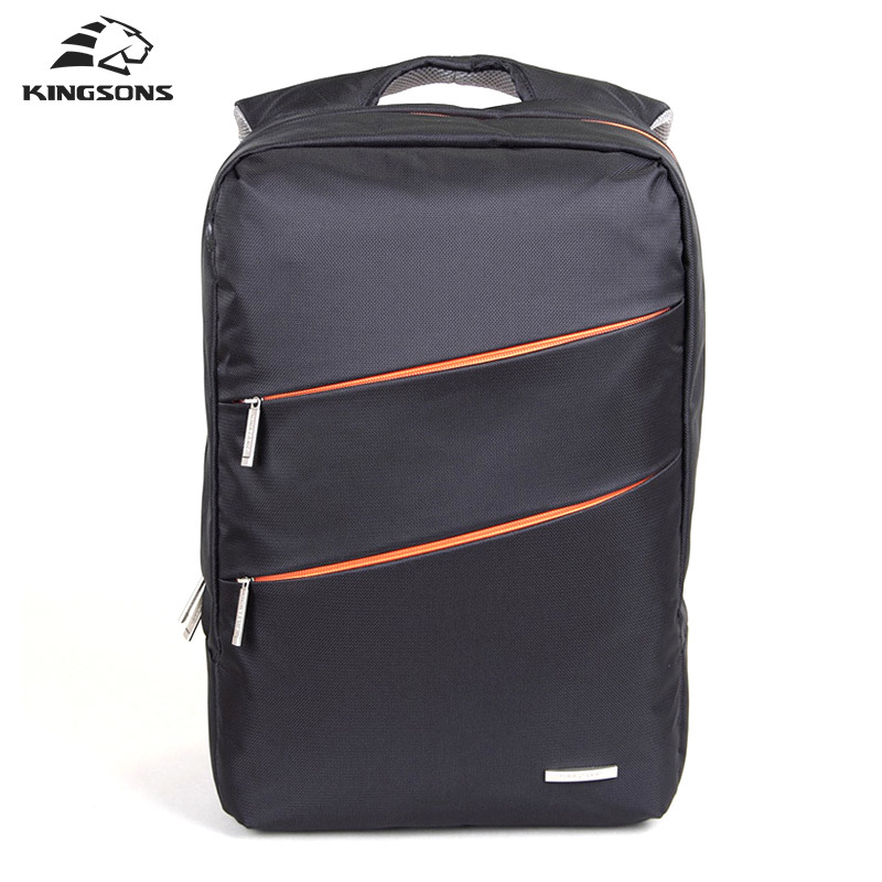 Kingsons Designer High Quality Men's Laptop Backpack Satchel Sac a Dos Unisex Travel School Bags Women's Girl's Dayback genuine leather backpack women designer bags high quality new rivet casual black school bags for teenagers grils sac a dos