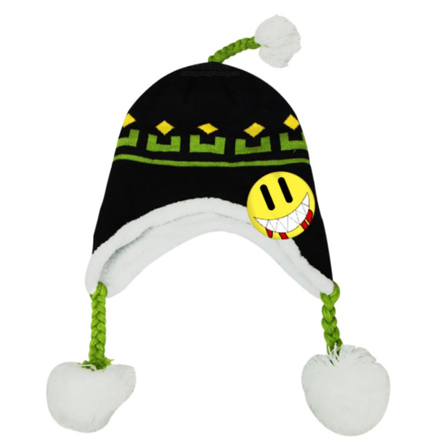 Video Game Dramatical Murder DMMD Noiz Cosplay Hat Black and Green ...