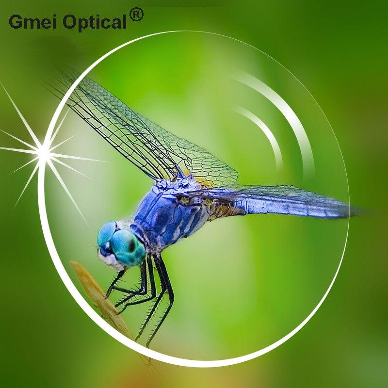 1.74 verres optiques ultra-minces à Vision unique avec Protection UV complète et revêtement anti-reflets 2 pièces - 6
