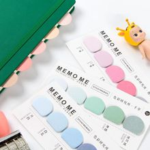 Colorful Dots Fashion Memo Pad Index Sticker Sticky Stickers 150 sheets 14*6.7cm School Office Supplies 2017 Stationery Gift