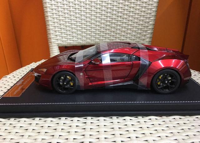 Kengfai Lykan HyperSport W Motors Car 1/18 Scale Resin Model High Quality NIB