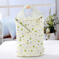 2016 Infant Crown Bear New Cotton Quilt baby Holds Blanket Newborn Envelope Baby Bedding Swaddle Infant Sleepsack Cobertor 85*85