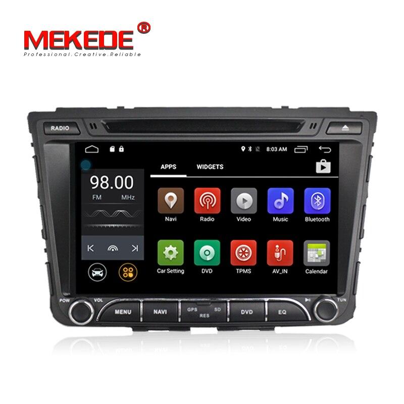 Android7.1 MEKEDE M518 8 pollici 2din Car stereo capo unità GPS per auto multimediale DVD player per HYUNDAI IX25 Creta 2014 2015 4g wifi BT