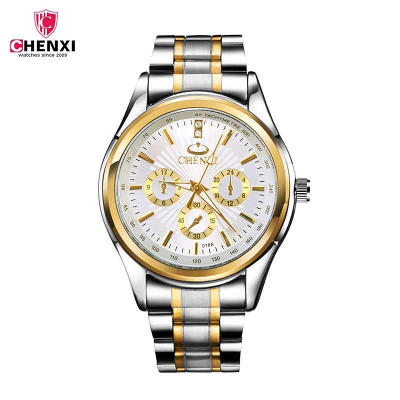 CHENXI Wristwatch Quartz Watch Men Watches Top Brand Luxury Famous Fashion Wrist Watch Male Clock Relogio Masculino Hodinky 4753 chenxi wristwatches gold watch men watches top brand luxury famous male clock golden steel wrist quartz watch relogio masculino