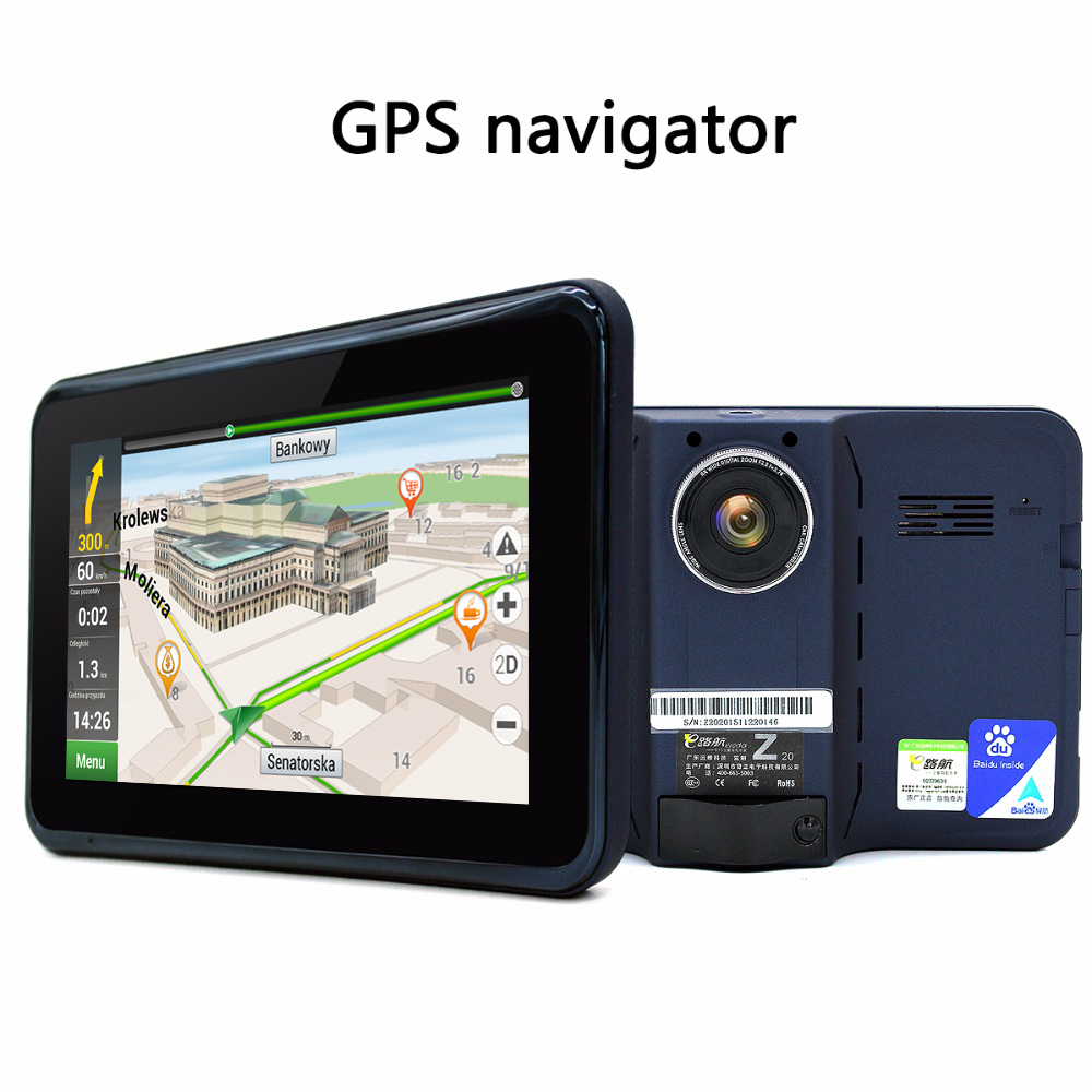 Aliexpress com buy junsun 7 inch capacitive car gps navigator android dvr video navigation radar detector gps europe navitel satnav free map update from