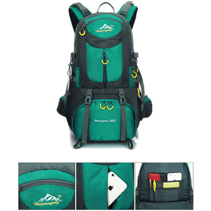 Image 4 - 60L unisex men backpack travel pack sports bag pack waterproof Outdoor Mountaineering Hiking Climbing Camping backpack for male