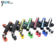 YUANQIAN 7/8 22mm Handlebar Sport Bike Motor Rubber Gel Hand Grips For SUZUKI GSXR GSX R 1000 GSXR 1300 CBR 600 750 4 Style