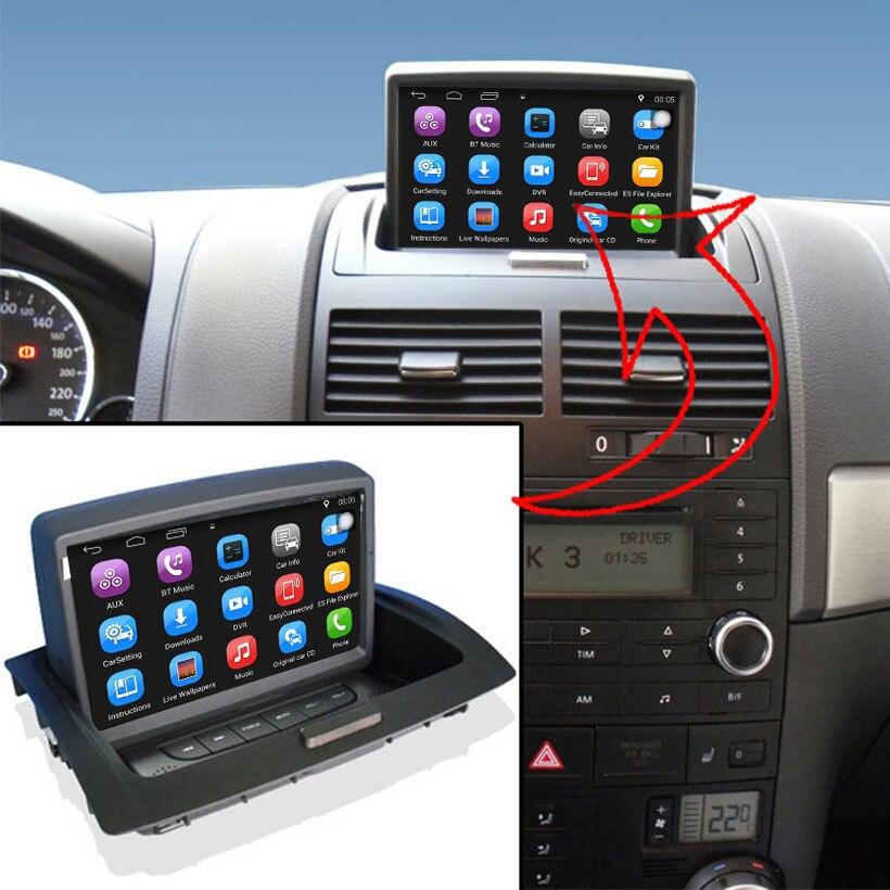 Aggiornato Vestito Originale Android Car multimedia Player di Navigazione GPS Per Auto per Volkswagen VW Touareg Supporto WiFi Bluetooth
