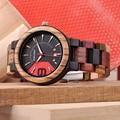 Relogio Masculino BOBO BIRD мужские часы деревянные часы Автоматическая Дата красочная тесьма военные наручные часы Подарочная деревянная коробка для ...