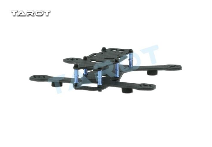 F17841 Tarot TL130H2 Mini Racing Drone Alien 130 Quadcopter Carbon Fiber Frame for FPV weyland tarot tl130h1 carbon fiber frame mini racing drone alien racing 130 quadcopter with flight controller motor esc prop fpv