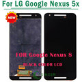 5PCS/LOT For google Nexus 5x LCD Display With Touch Digitizer Screen Complete Assembly Free DHL
