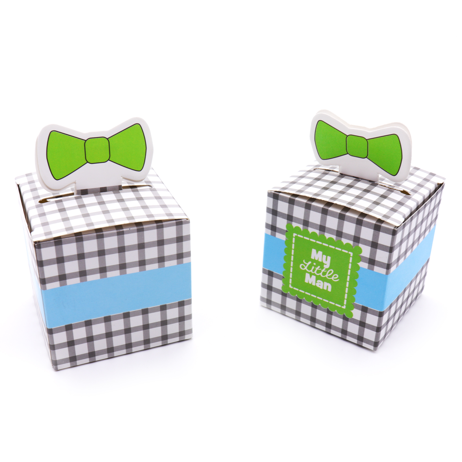 50pcs New Sailing Candy Box Baby on Board Mustache Sail Celebration Baby Shower Favor Boxes Gift Box Baptism Party Souvenirs