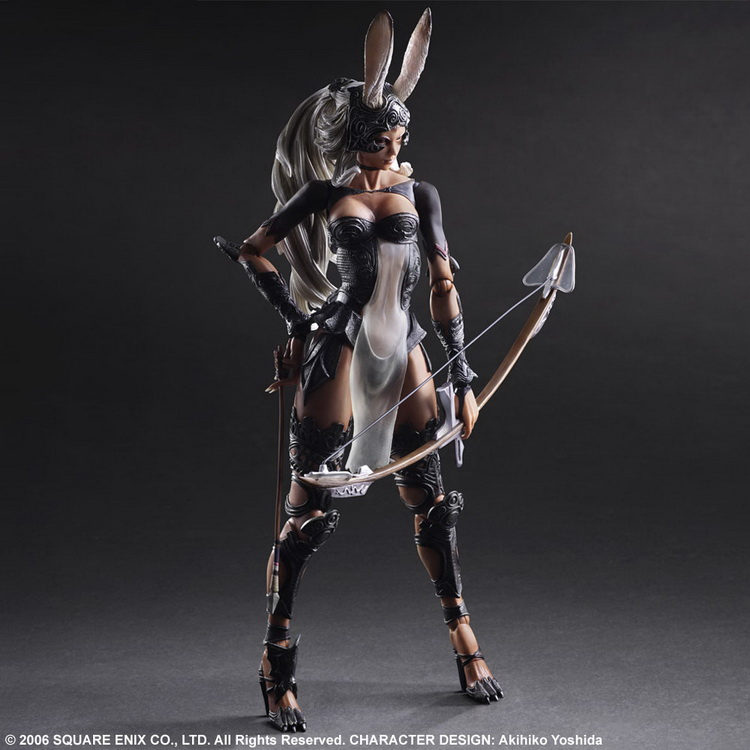 1/7 scale figure doll FINAL FANTASY XII Fran 10 action figure doll Collectible figure Plastic model toys