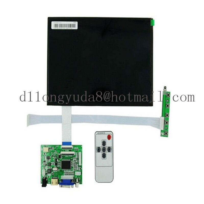 10.1 pouces 40 broches 1280 (RGB) * 800 TFT EJ101IA-01G écran LCD avec télécommande carte de contrôle 2AV HDMI VGA pour Raspberry Pi