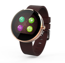 Hohe Qualität wasserdichte Smartwatch Bluetooth Smart Uhr mit LED alitmeter Musik-Player Schrittzähler für Apple iOS Android