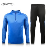 BHWYFC Rugby Jersey 2017 Sport Suit Tracksuit Mens Women Sets long Sleeve Survetement Jogging Training Jerseys Rugby Shirt