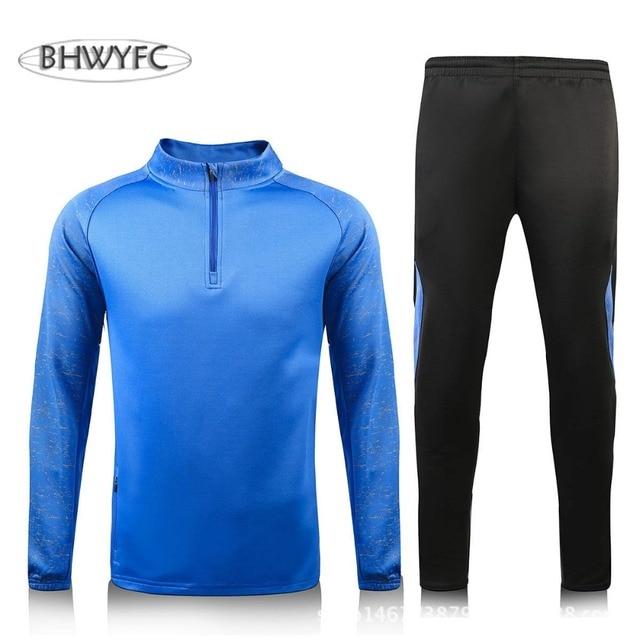 5db148c26d BHWYFC maillot de Rugby 2017 Sport survêtement hommes femmes ensembles à manches  longues Survetement Jogging entraînement