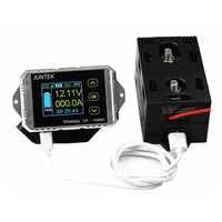 100 V 100A 200A 300A DC tension mètres ampèremètre compteur de puissance feuille de puissance coulomètre véhicule électrique surveillance de la capacité de la batterie