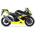 Набор корпусных деталей мотоцикла для 2005 2006 Suzuki GSXR gsx r 1000 Желтый Черный Полный комплект обтекателя впрыска