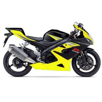 Motorcycle Fairing Injection for 2005 2006 Suzuki GSXR GSX R 1000 Yellow Black Complete Injection Fairing Kit