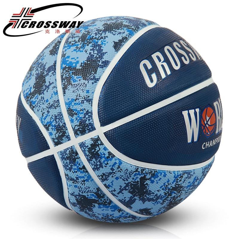 Quality basketball ball size 7 New  Rubber Pelota  Basketball Indoor Outdoor Ballon De Basketball Training Equipment Net Bag Pin soccer balls size 4