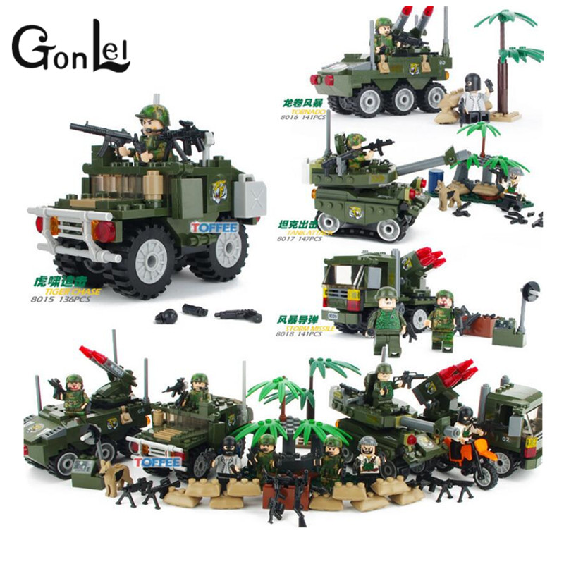 GonLeI  99 Main Battle Tank Army Military WW2 Soldiers Guns Building Blocks Bricks compatible With lepin  Boy gift босоножки feng fu ni ffn13129 2015
