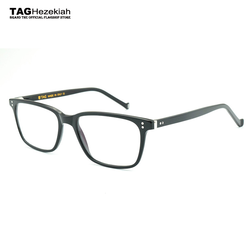 e17ad77bb47 2018 The New TAG Hezekiah Brand glasses frame women fashion retro designer eyeglasses  frames men prescription glasses spectacles-in Eyewear Frames from ...