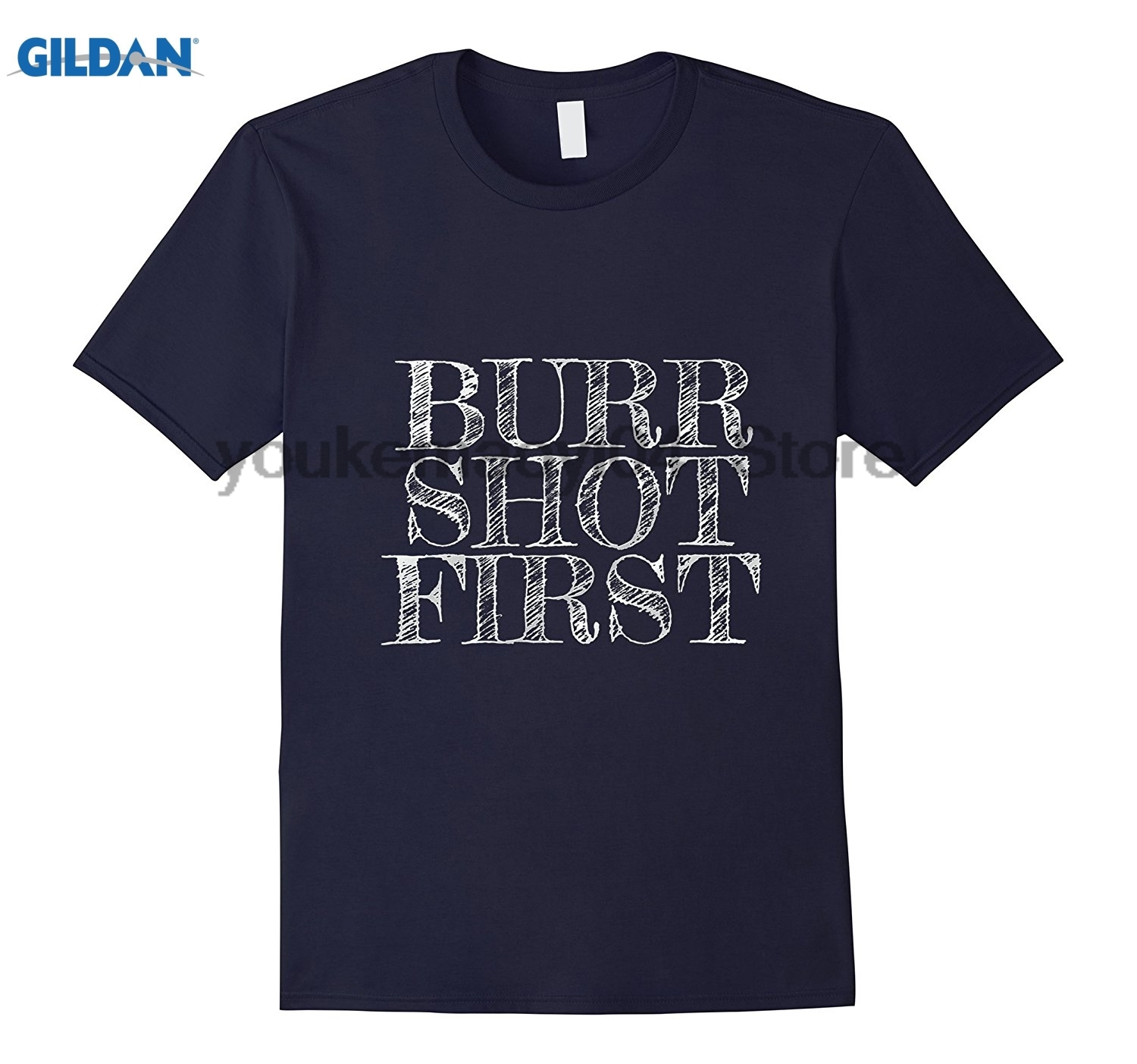 GILDAN Burr Shot First Alexander Fan T Shirts