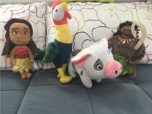 Moana Doll Plush Original Movie Moana and Maui Hei Hei Pau Pig Pelucia Peluche Doll Soft